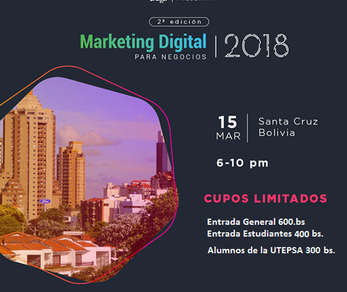Conferencia Marketing Digital 2018